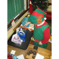 Santa's Workshop - weighing presents