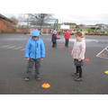 Blindfolded obstacle course
