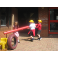 Outdoor construction and role play