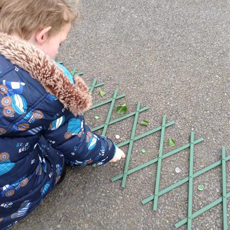Making Patterns, Problem Solving Outside
