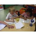 Spelling practise