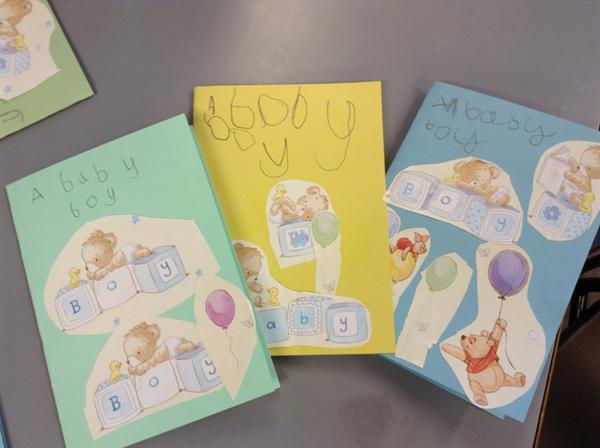 Our welcome to the world cards!