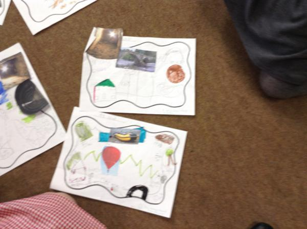 Making maps for a bear hunt.