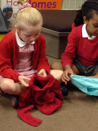 Threading and inspecting our clothes