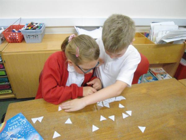 Multiplication tarsia