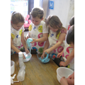 Slime workshop for Golden Time!