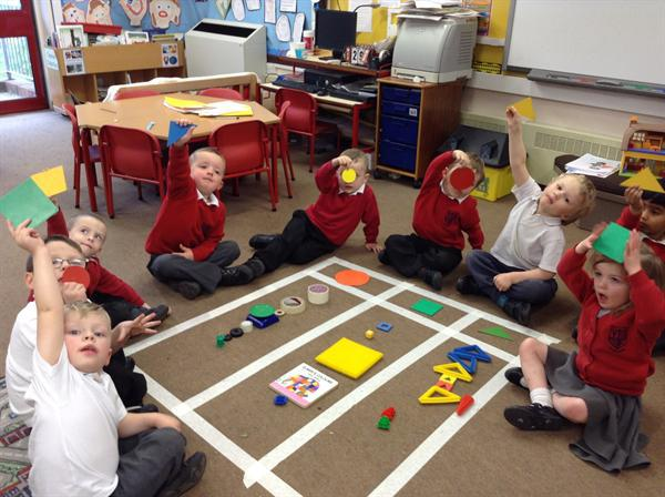 Finding and sorting 2d shapes.