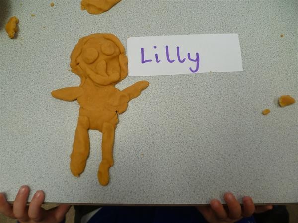 October - We made playdough disciples for Jesus!