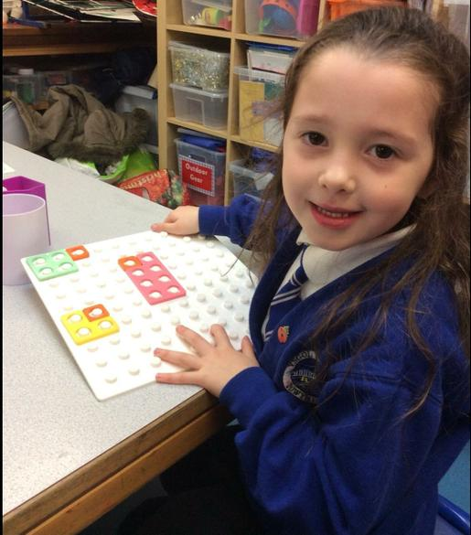 I added 1 more using the Numicon