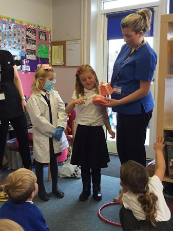 Visit from Madoc Dental Care