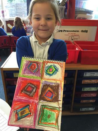 November- Kandinsky art