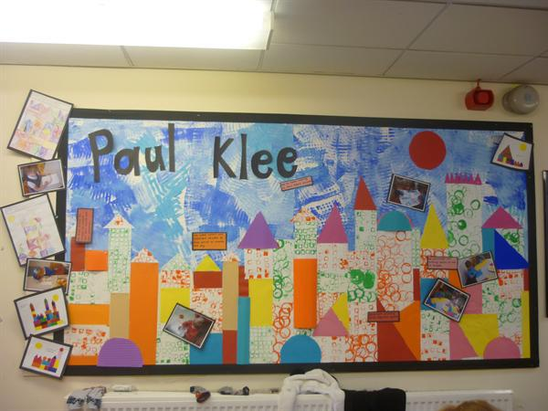 Our Paul Klee display