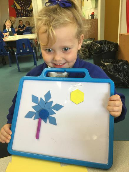 Making pictures from 2D shapes