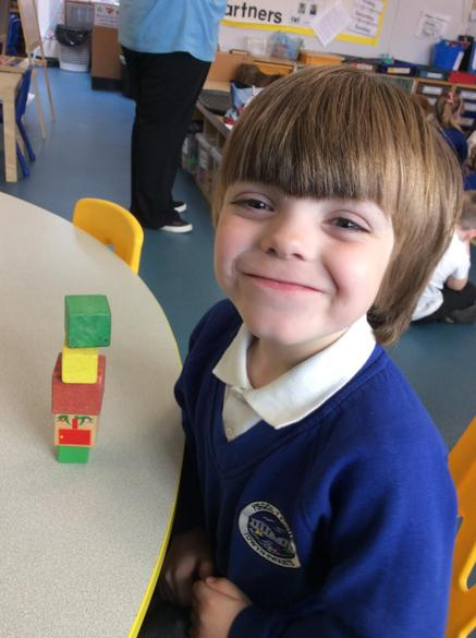 It really helped us to learn about 3D shapes