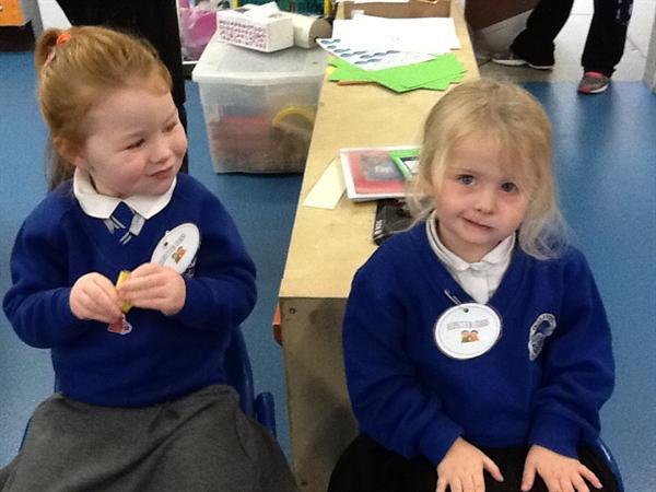 Respecting others week - We made badges to show ho