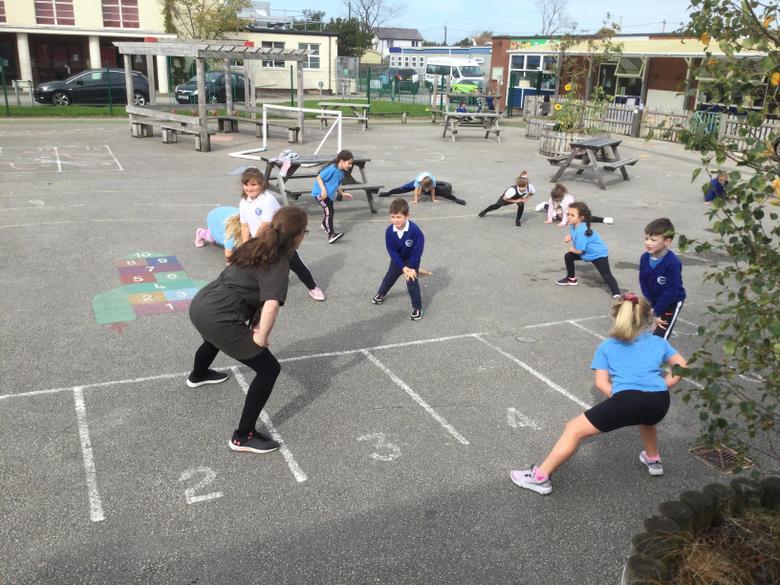 We love outdoor PE activities