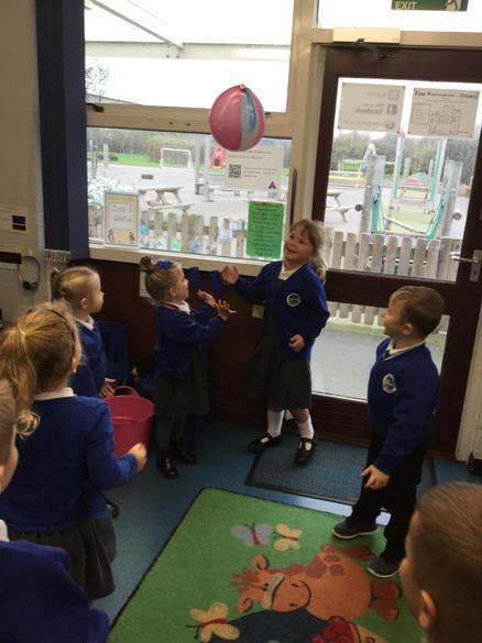 We had great fun learning the b sound