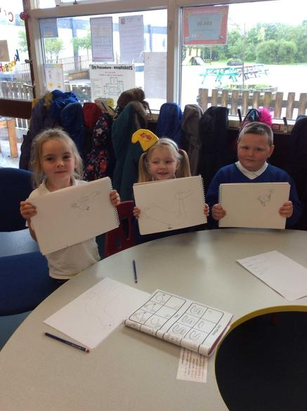 We have learned how to draw a duck!