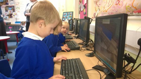 Oct 2014 - Minecraft Edu