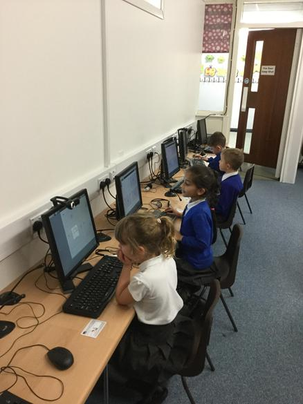 Full concentration from the Digital Story Club!