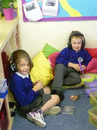 Sept 2012 - In the listening area.