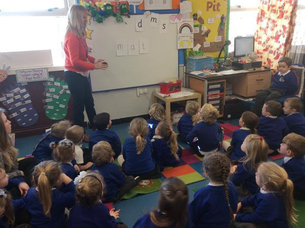 We are learning to read
