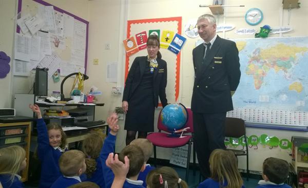 Feb 2015 - Airline Pilot Visit