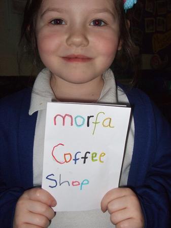 Morfa coffee shop.