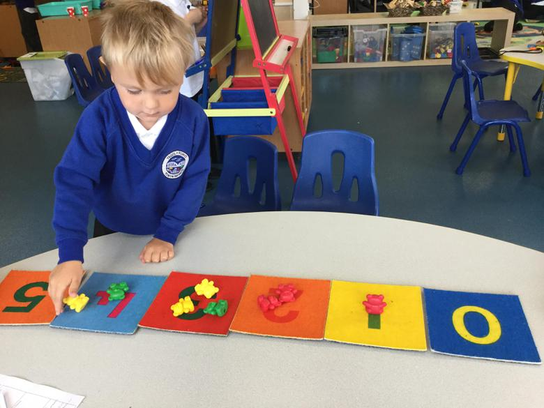 We have been sorting the numbers from 0-5