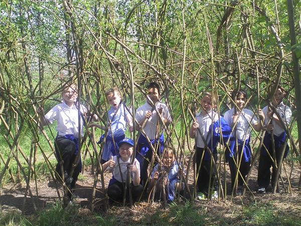 May 2013 - Who's hiding in the willow?
