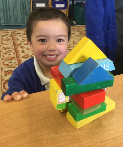 We used cubes and cuboids