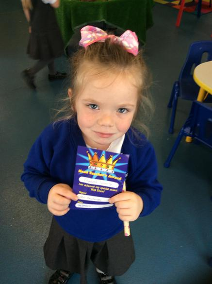 We are so proud of you-Headteacher award!!