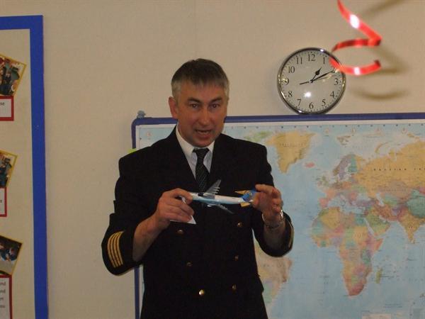 Jan 2013 - Airline Pilot Visit