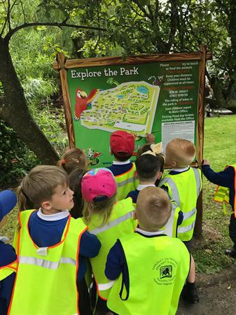 June - school trip to Greenacres farm