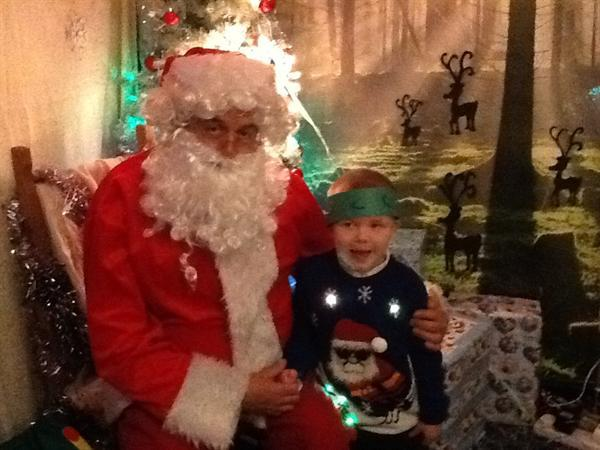I got to see Father Christmas