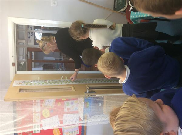 We are learning how to measure.