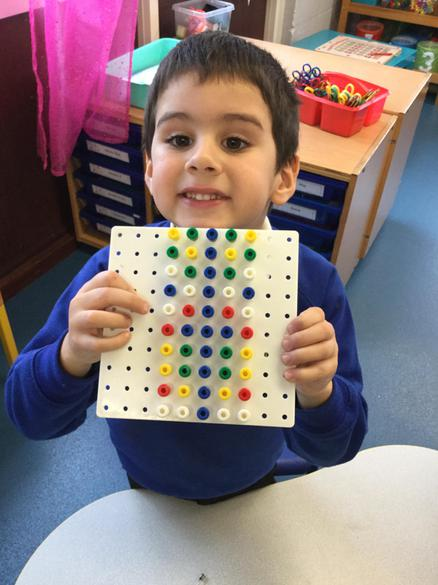 Symmetry with the peg boards