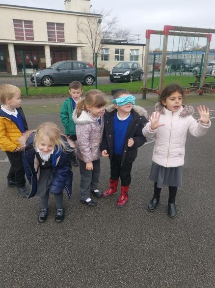 We went out to learn about directional language