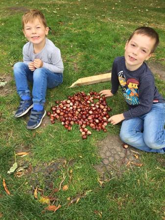 Parent challenge - Autumn selfie
