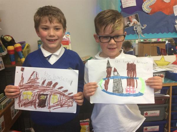Bonfire Night colouring and drawing