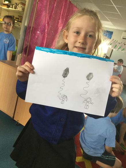 We were very proud of our finished work