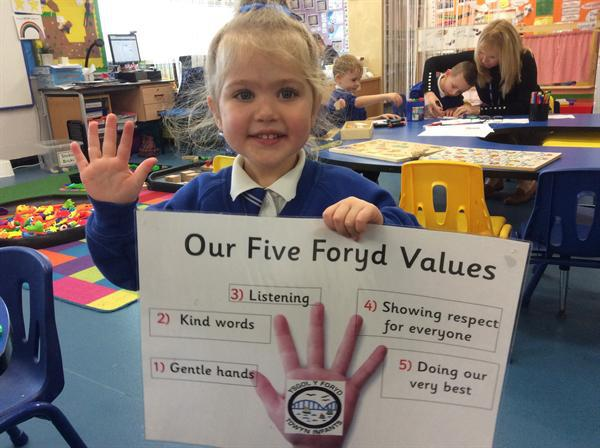 I know our Y Foryd values