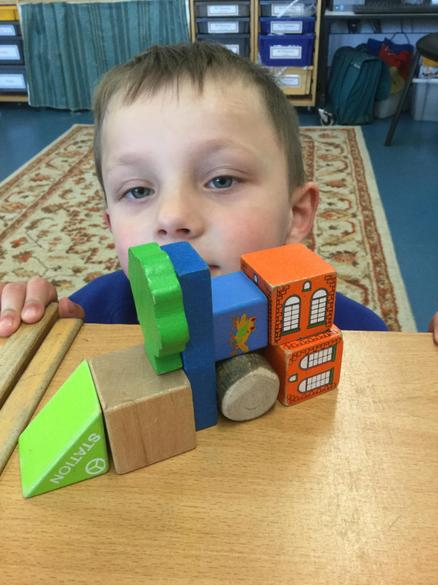 To help us learn about 3D shape we built models