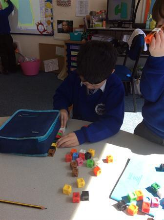 Measuring using cubes