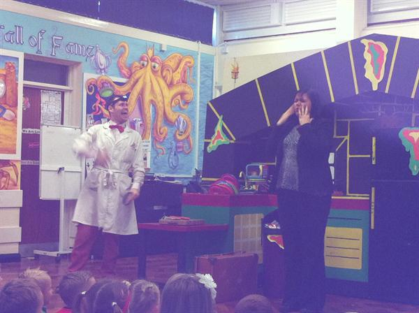Our exciting science show!