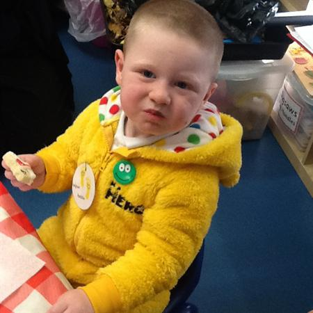 Biscuit making on Children in Need day