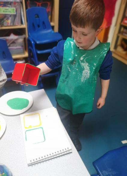 We were printing different shapes
