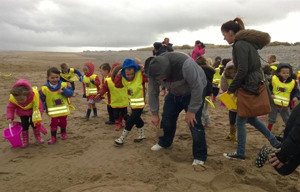 Oct 2014 - Kinmel Bay Beach Visit