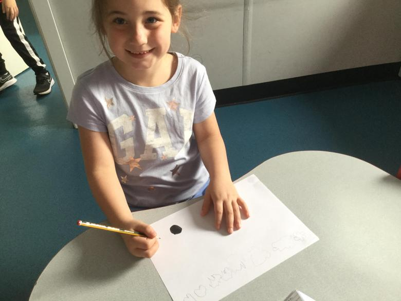 We started with a single dot