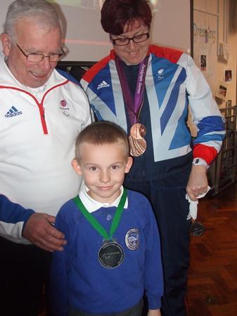 Jan 2013 - Bev Jones, Paralympian